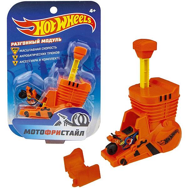 1Toy Игровой набор 1Toy Hot Wheels Мотофристайл, 4 предмета