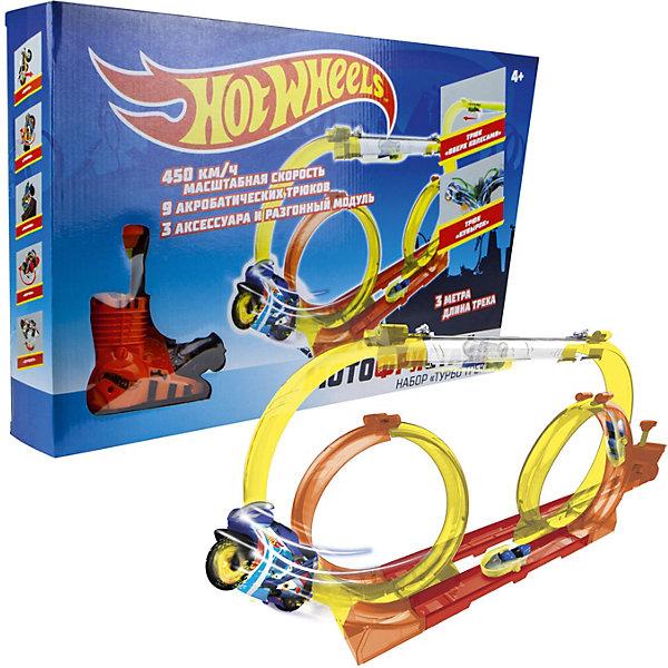 Игровой набор 1Toy Hot Wheels Мотофристайл, 18 предметов 14224498
