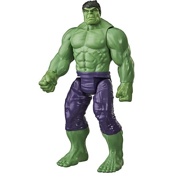 Купить Игровая фигурка Marvel Avengers Титаны Делюкс Халк, 30, 4 см, Hasbro, Китай, Мужской
