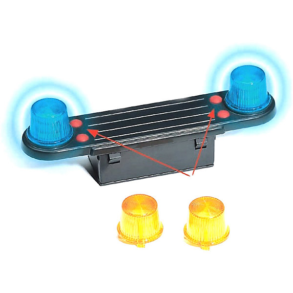 Bruder Аксессуары Bruder Модуль со световыми и звуковыми эффектами для автомобилей bruder автокран mack с модулем со световыми и звуковыми эффектами красный bruder
