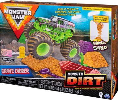 Monster Jam Игровой набор Spin Master Monster Jam Монстр Джем 2 набор jam jar серебристый