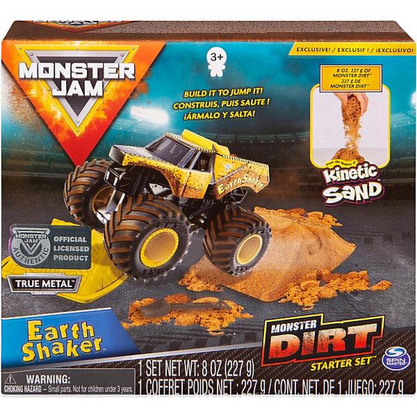 Spin Master Игровой набор Spin Master Monster Jam Монстр Джем 4 цена