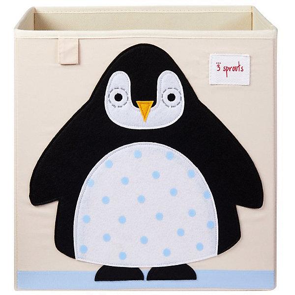 3 Sprouts Коробка для хранения 3 Sprouts. Пингвин
