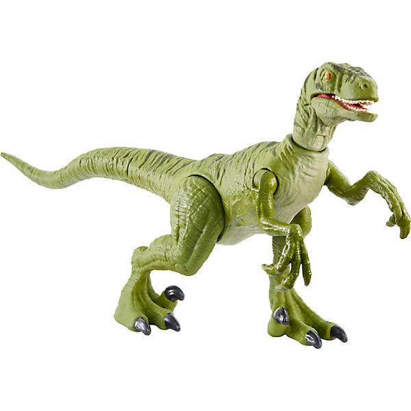 Mattel Базовая фигурка динозавра Jurassic World Dino Rivals Велоцираптор Чарли jurassic world фигурка мини динозавр