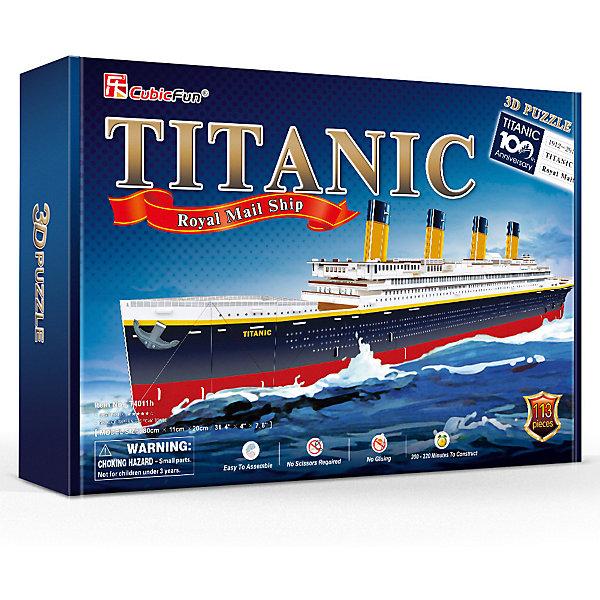 CubicFun 3D пазл CubicFun Корабль Титаник цена