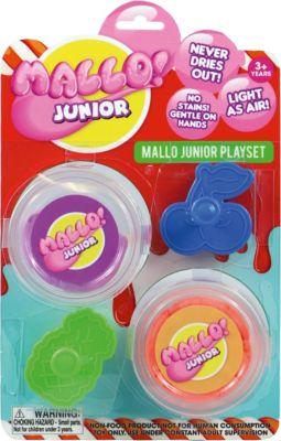 Фото - Mallo Набор для лепки Mallo Junior с формочками масса для лепки mallo junior набор сафари
