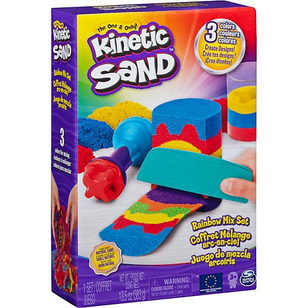 Купить Набор для лепки Kinetic sand Радуга, Франция, разноцветный, Унисекс