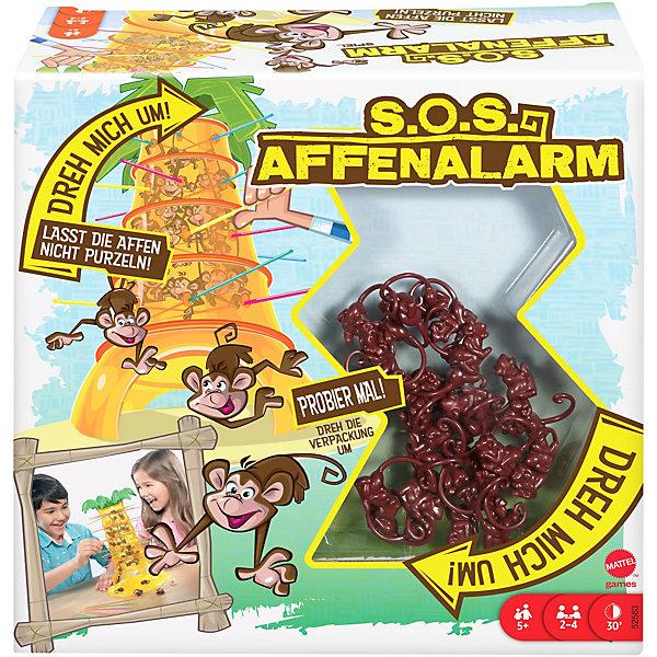 Mattel Игра настольная Games Падающие обезьянки 52563