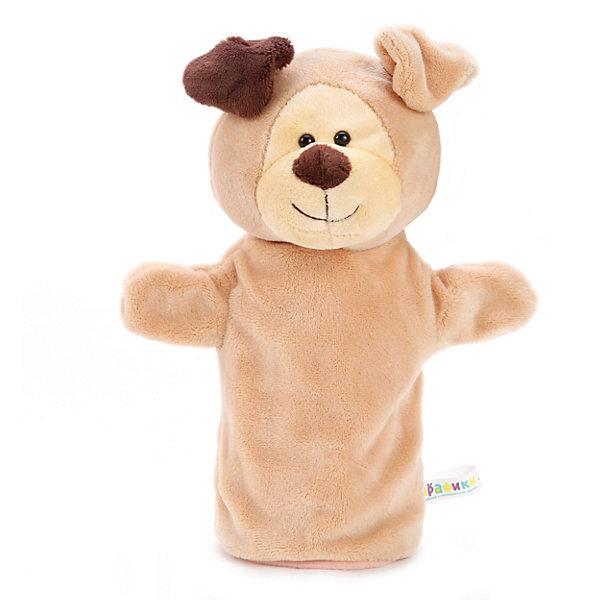 Фото - Жирафики Мягкая игрушка на руку Жирафики Щенок, 25 см shokid интерактивная мягкая игрушка shokid щенок noisette 15 см