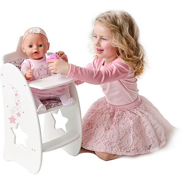 PAREMO Стульчик для кормления кукол Paremo Звёздочка стульчик для кормления inglesina my time цвет sugar az91k9sgaru