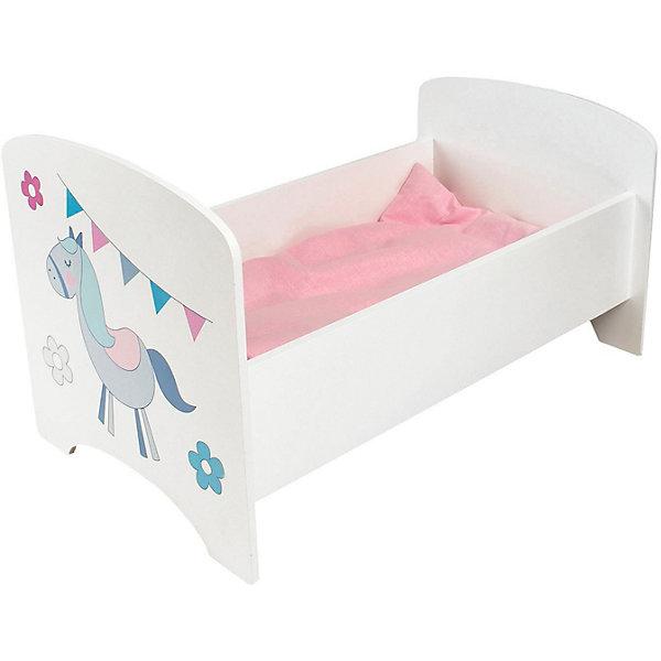 Кроватка для кукол Paremo