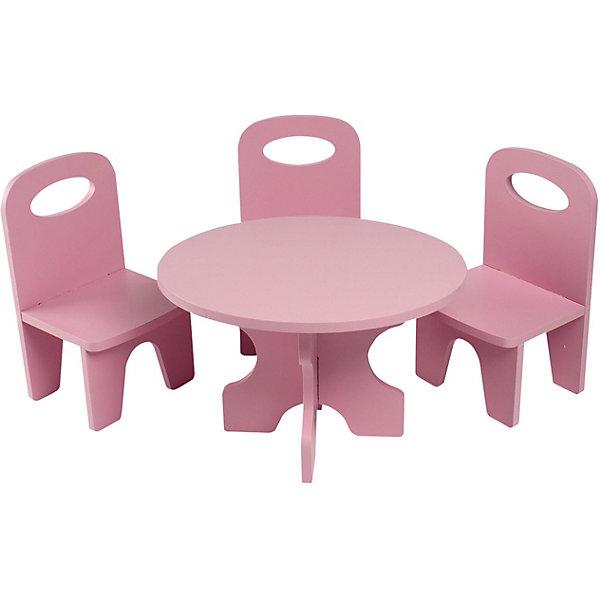 Купить Набор кукольной мебели Paremo Классика , 4 предмета, Китай, розовый, Женский