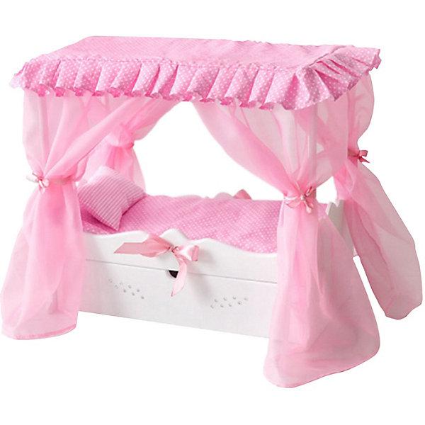 PAREMO Кровать для кукол Paremo с постельным бельём кровать с выдвижным ящиком paremo кровать с выдвижным ящиком