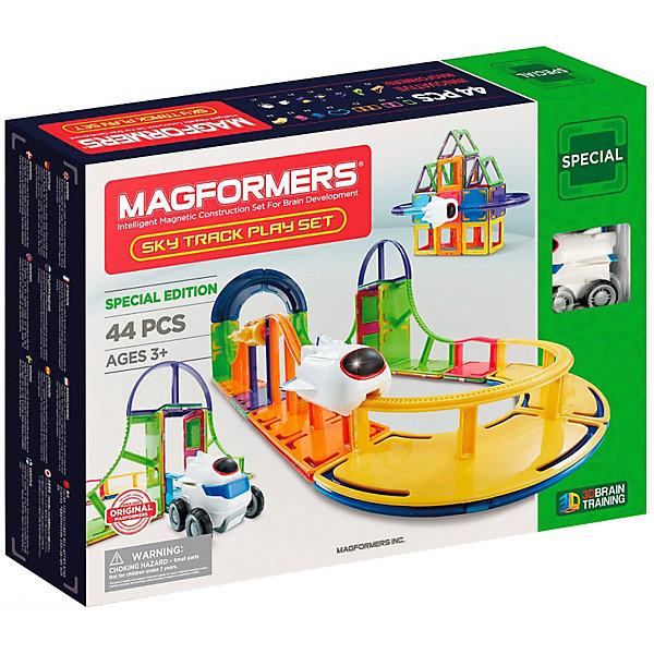 MAGFORMERS Магнитный конструктор Magformers Sky Track Play Set, 44 детали magformers магнитный конструктор ice world 30 деталей magformers