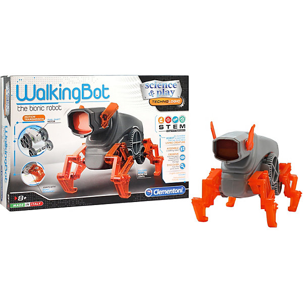 Купить Конструктор Clementoni Робот-собака , Италия, разноцветный, Мужской