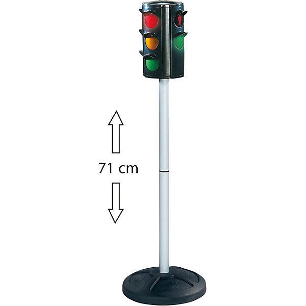 BIG Светофор Big Traffic Lights new reflective traffic warning sign car triangle foldable standing tripod emergency