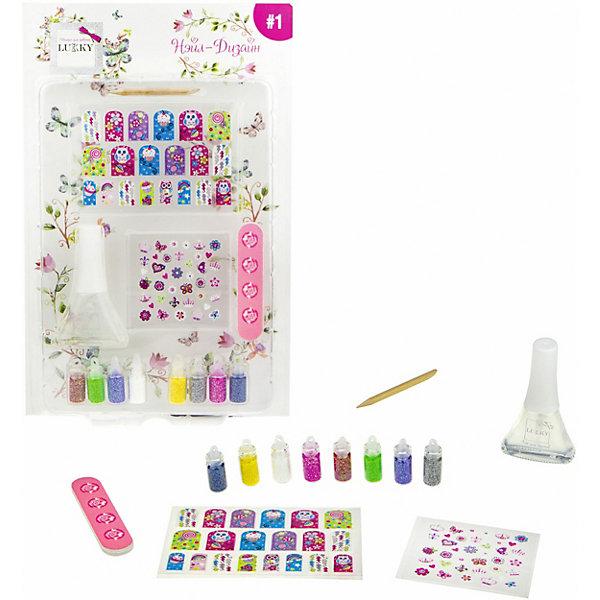Lukky Набор для дизайна ногтей Lukky