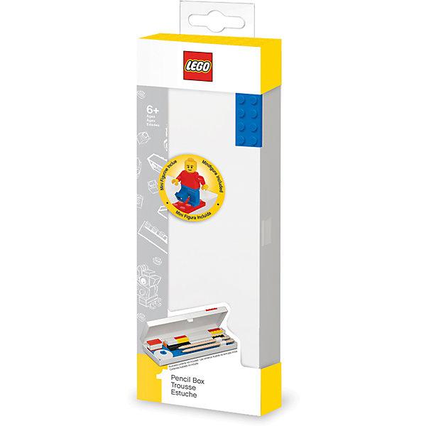 Фото - LEGO Пенал с мини-фигуркой LEGO Classic lego записная книжка lego classic duck build с ручкой и мини фигурой 192 листа