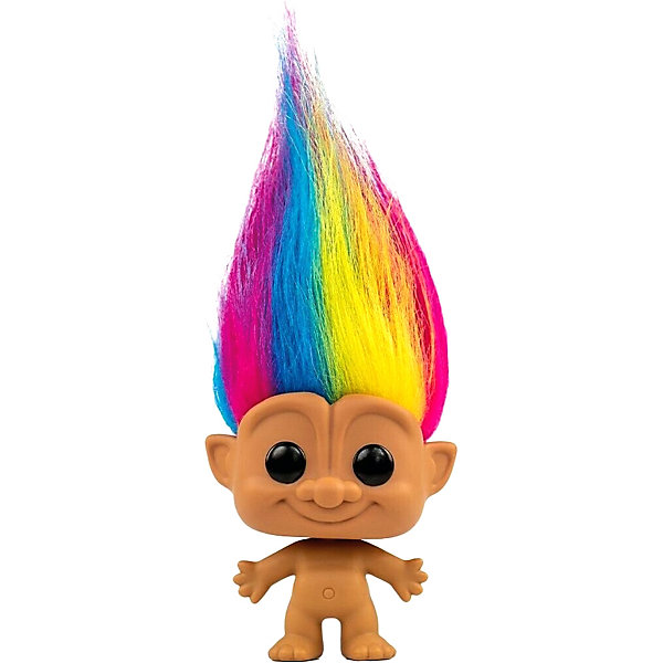 Funko Фигурка Funko POP! Vinyl: Тролли: Радужный тролль, Fun2549379 trolls большая фигура тролль guy diamond 35 см