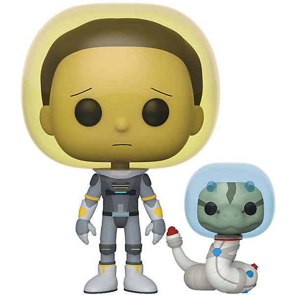 фигурка funko pop vinyl rick and morty 10 rick 47379ie Funko Фигурка Funko POP! Vinyl: Рик и Морти: Морти в скафандре со змеёй, Fun2549369