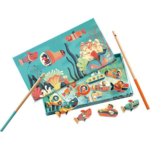 DJECO Игра Djeco Магнитная рыбалка игры для малышей djeco магнитная игра тропическая рыбалка