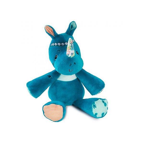 Lilliputiens Мягкая игрушка Lilliputiens Носорог Мариус дракон уолтер корзина для игрушек lilliputiens