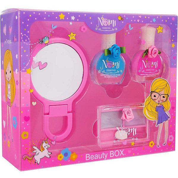 Nomi Подарочный набор декоративной косметики Nomi набор детской косметики nomi beauty box 5