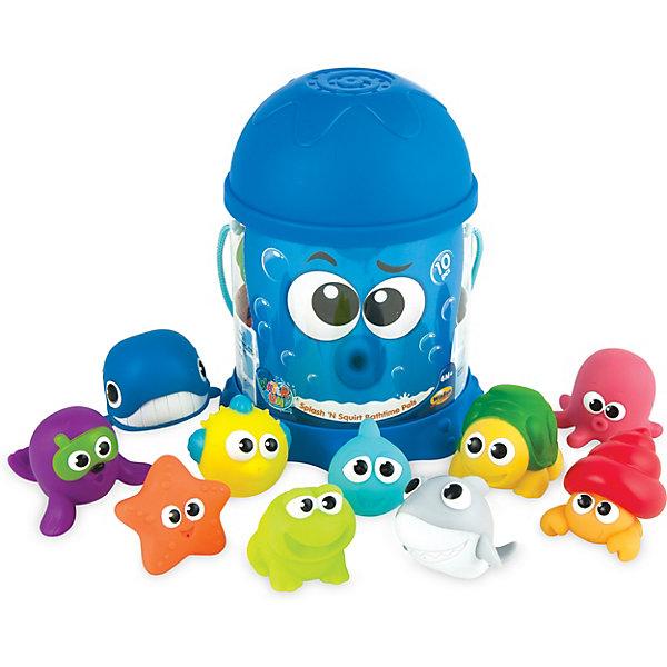 WinFun Набор игрушек для ванны WinFun Плескайся и брызгай набор игрушек для ванны росигрушка утка и утята