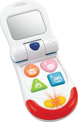 WinFun Музыкальная игрушка WinFun Телефон-раскладушка