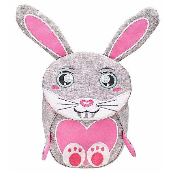 Купить Рюкзак Belmil Mini Animals Зайка, Сербия, серый, Женский