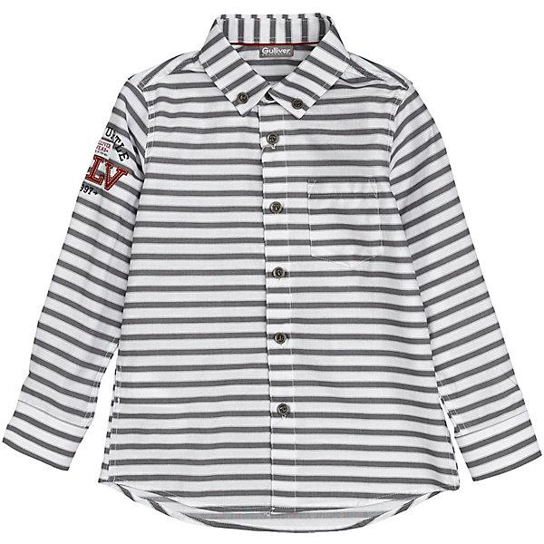 Рубашка Gulliver белого цвета