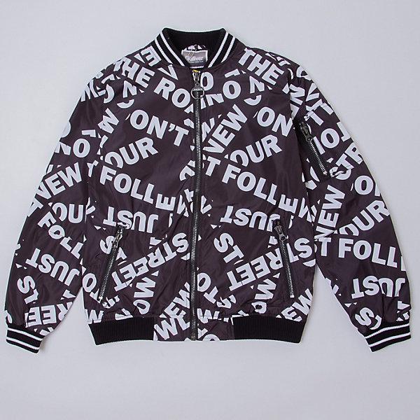 Купить Бомбер Gulliver, Китай, черный, 158, 170, 164, 146, 140, 134, 152, Мужской