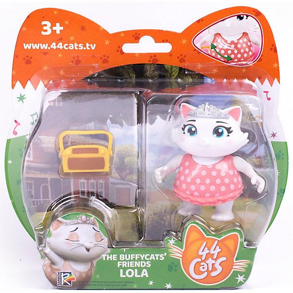 Купить Игровой набор Rainbow 44 котёнка Лола с аксессуаром, 7, 5 см, Гонконг, белый, Женский
