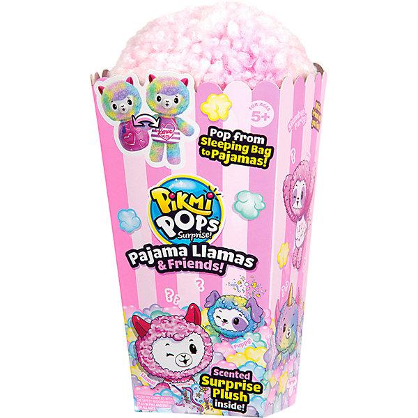 Купить Игровой набор с 1 героем Moose Pikmi Pops Пижама Лама и Друзья , Китай, розовый, Женский