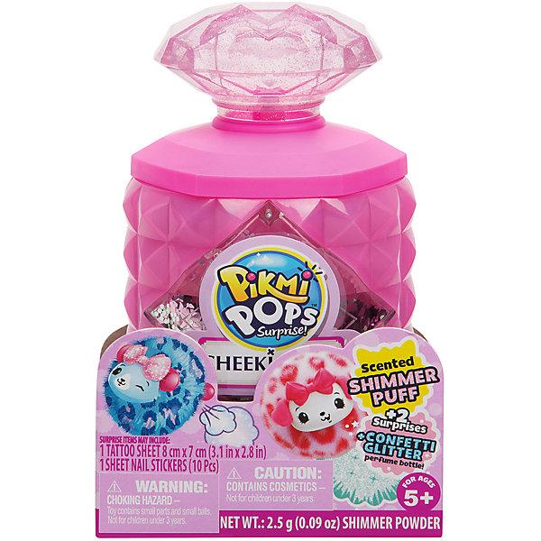 Купить Игровой набор Moose Pikmi Pops Cheeki Puff Флакон с кристаллом, Китай, розовый, Женский