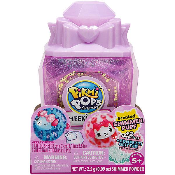 Купить Игровой набор Moose Pikmi Pops Cheeki Puff Флакон с бантиком, Китай, сиреневый, Женский