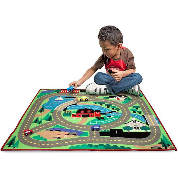 Купить Игровой коврик Melissa&Doug Город, 99х84 см, Melissa & Doug, Китай, разноцветный, Мужской