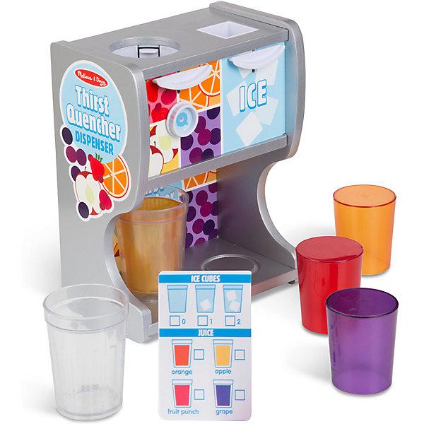 Купить Игровой набор Melissa&Doug Аппарат для напитков, Melissa & Doug, Китай, разноцветный, Унисекс