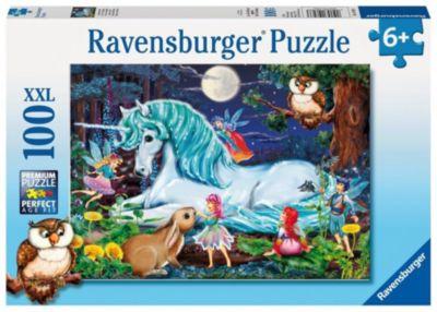 Пазл «Зачарованный лес» XXL 100 деталей, Ravensburger, артикул:1442451 - Пазлы