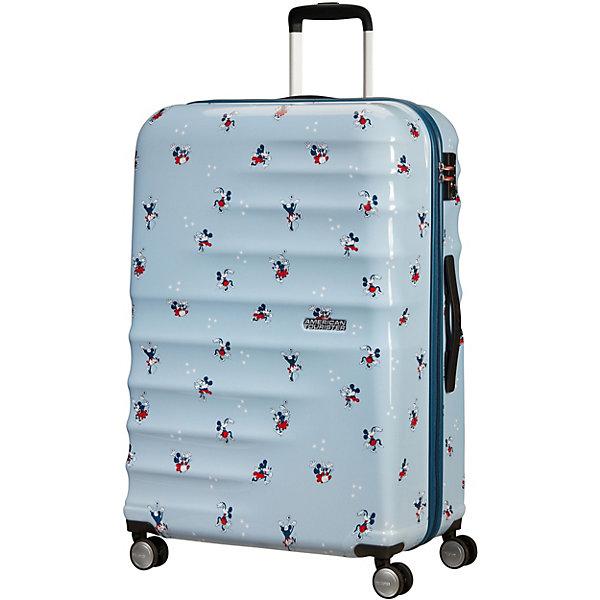 American Tourister Чемодан American Tourister Милашка Минни, высота 74 см чемодан american tourister litewing insignia blue 70 см 4 колеса