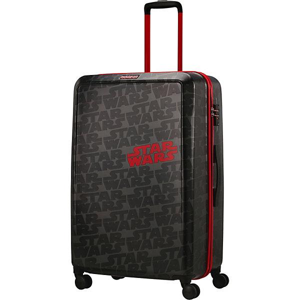 American Tourister Чемодан American Tourister Звездные войны лого, высота 77 см чемодан airport 77 см черный 4 колеса