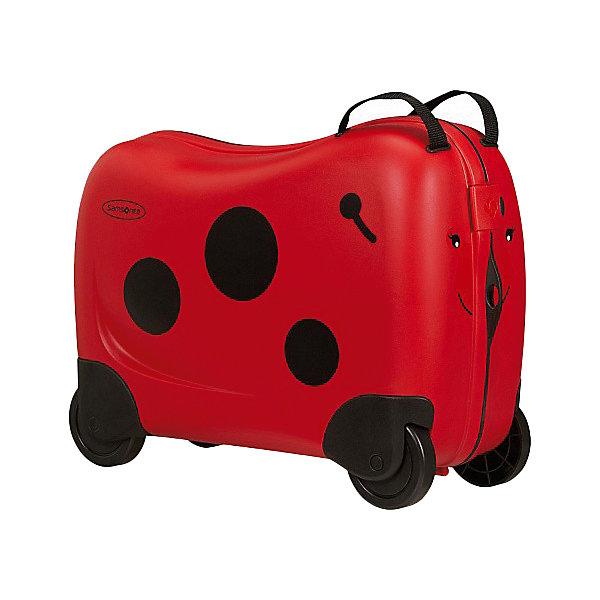 сумка samsonite сумка чемодан 55 см ziproll 40x55x20 см Samsonite Чемодан Samsonite Dream Rider Божья Коровка, высота 39 см