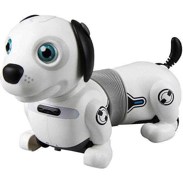 - Интерактивная собака-робот Silverlit Yсoo Дэкел Джуниор интерактивная игрушка робот silverlit ycoo n friends собака руффи синий