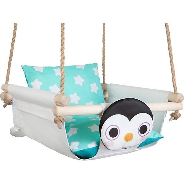 Качели с подушками Hotenok Пингвин на снегу 14522114