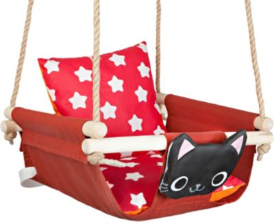 Фото - Hotenok Качели с подушками Hotenok Кот в цветах кот в цветах