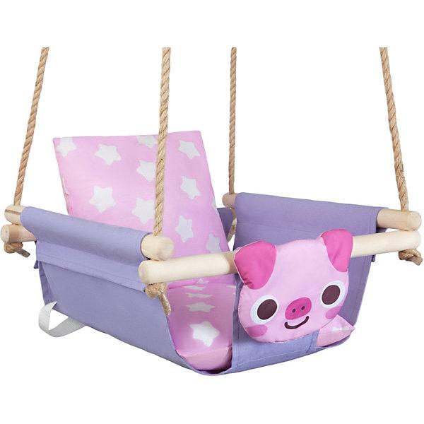 Качели с подушками Hotenok Гламурный Поросёнок  14522118
