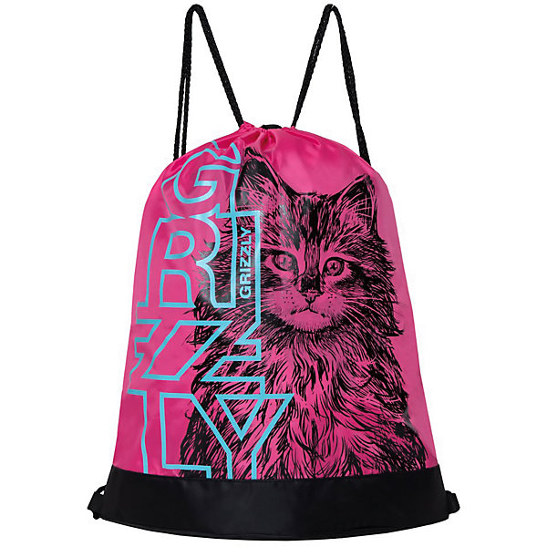 Grizzly Мешок для обуви Grizzly OM-91-5 № 1 Котенок grizzly мешок для обуви grizzly