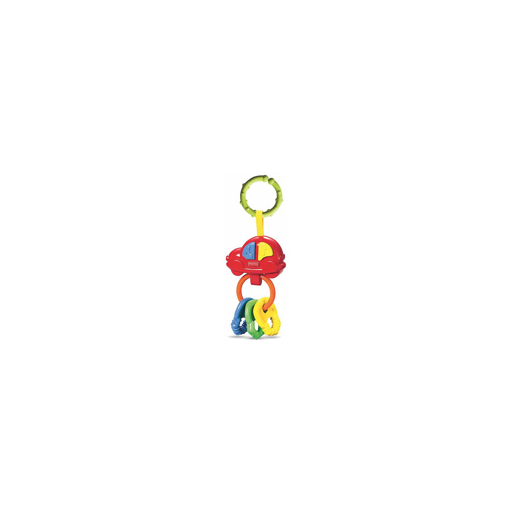 Погремушка-прорезыватель Музыкальная машинка, Fisher-price (Mattel)