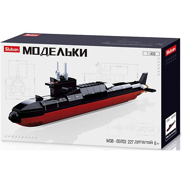 Sluban Конструктор Sluban Флот Подводная лодка, 1:450, 227 деталей