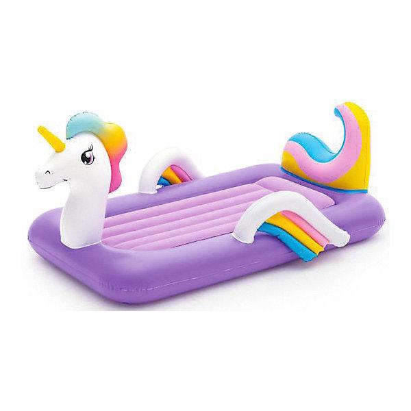 Надувной матрас кровать Bestway DreamChaser Единорог